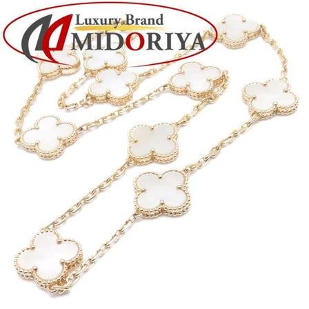 Van Cleef & Arpels Vintage Alhambra Necklace VCARA42800 MOP /093955