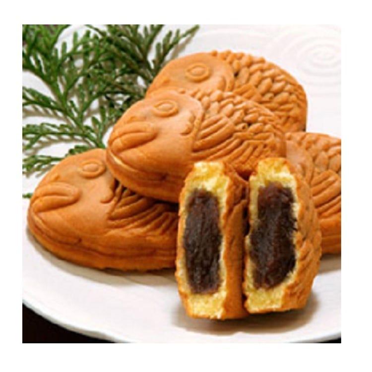 "Recommended for celebrations and souvenirs It is an auspicious form ""Taiyaki"".  Nihonbashiya Chobei/ · TENKA TAIHEI(6piece・9piece・12piece)   ■A Bld. B1F=Seibu Food Center"
