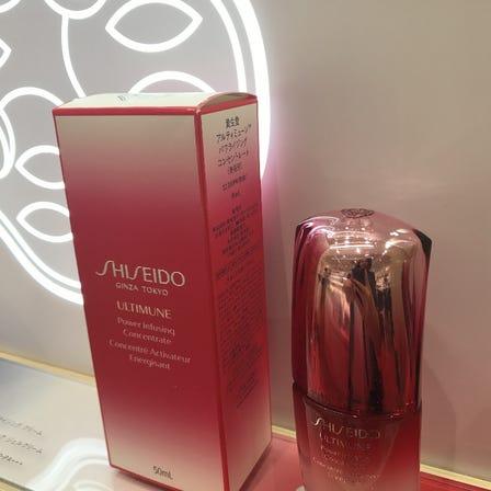 Brand SHISEIDO<br /> Popular NO.1 essence<br /> ULTIMUNE♪