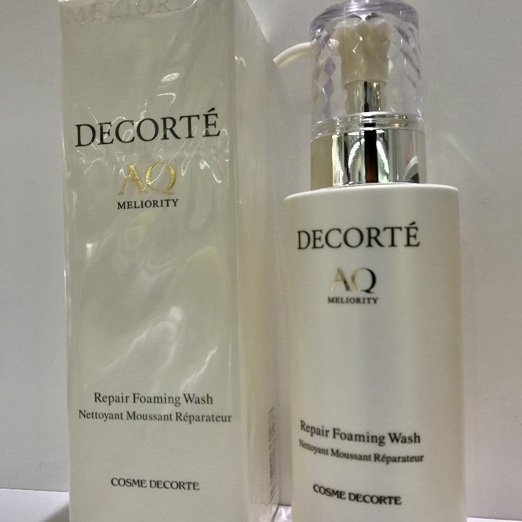 DECORTE AQ MELIORITY  Repair Foaming Wash