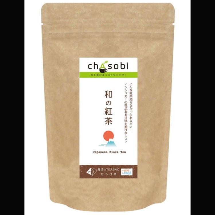 """""""Wa-no-kocha"""" Japanese black tea bags"""