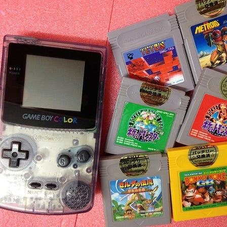 Game Boy Color console