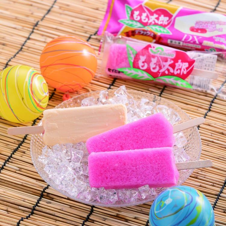 桃太郎(草莓味的刨冰塊)
