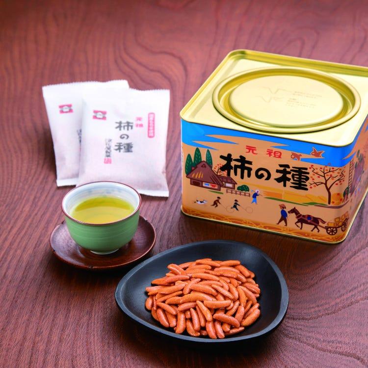 元祖 柿子籽(柚子中加入辣椒味)