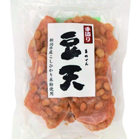 手工制作 豆天(使用县产的大豆和越光大米制作的米粉)