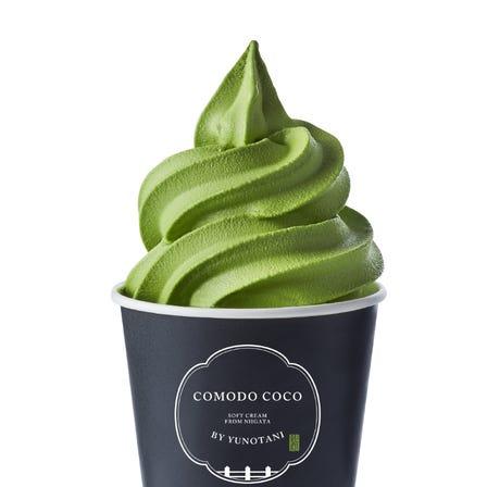 녹차 소프트 아이스크림