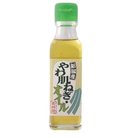 柔肌葱油(滴几滴用于调味和摆盘)注:柔肌葱是新潟县产的大葱品种,因葱白雪白细腻而得名。