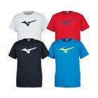 BIG LOGO T-SHIRTS 这是一件流行的大徽标T恤。所有11种颜色。  #mizuno #tshirt #sports_wear #unisex
