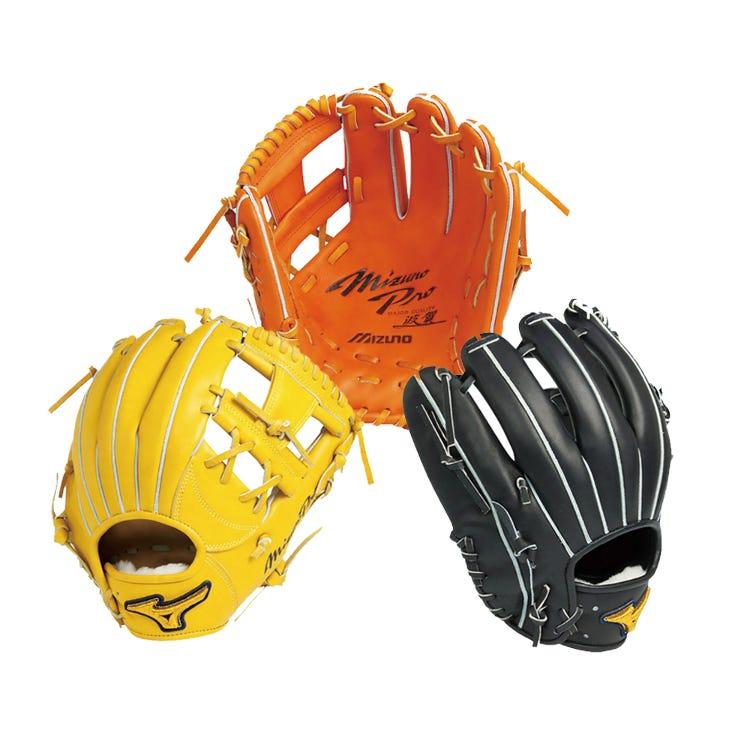 HAGA CRAFTED < MIZUNO PRO > / FOR HARD-BALL The finest gloves made at Haga Factory (Japan).  #mizuno #baseball #glove #mizuno_pro #haga_crafted #made_in_japan