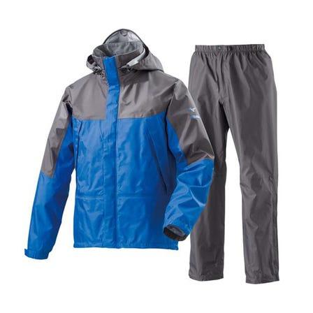 BERGTECH EX / RAIN SUIT  アウトドアにおススメの定番レインスーツ。 強度に優れた3層構造で、生地裏面はべたつきにくい設計です。  #mizuno #rain_suit #outdoor #water_repellent