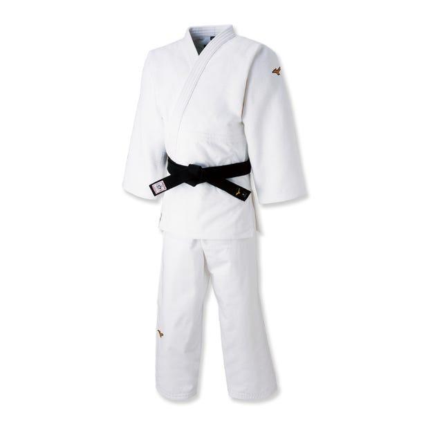 JUDO WEAR / WHITE COLOR Japan's top player model (white)  #mizuno #judo #top_model #made_in_japan
