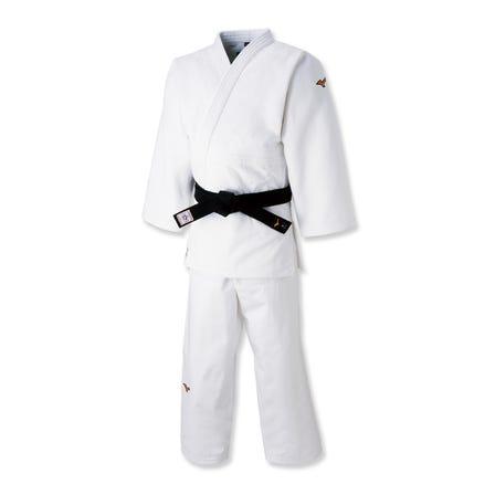 JUDO WEAR / WHITE COLOR 日本頂級球員模型(白色)  #mizuno #judo #top_model #made_in_japan