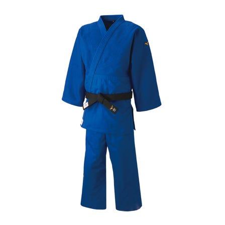 柔道衣 / トップモデル 日本代表着用のトップモデル柔道衣(青)  #mizuno #judo #top_model #made_in_japan