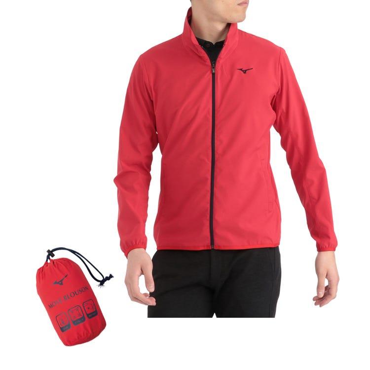 防水弹力外套 对于春季和秋季高尔夫。具有有效拉伸力的防水外套。  #mizuno #water_repellent #stretch #blouson #golf