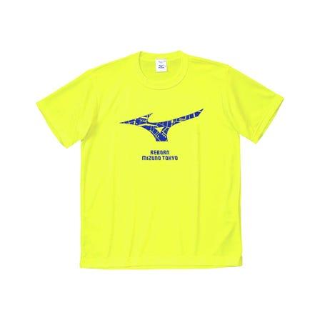 REBORN MIZUNO TOKYO T-SHIRTS REBORN MIZUNO TOKYOを記念して作成された、澁谷忠臣氏デザインの限定Tシャツ。  #mizuno #mizuno_tokyo #reborn_mizuno_tokyo #tshirt #nisex #