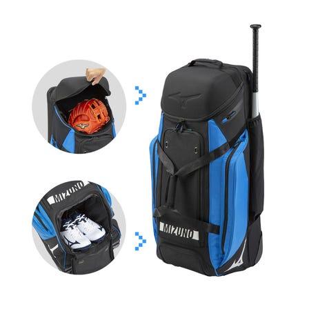 MUS キャリーケース for BASEBALL 野球道具が一式入れられる大容量キャリーケース。  #mizuno #baseball #carry_case #baseball_gear
