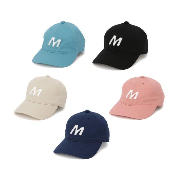 M-LINE CAP 앞으로의 계절에 딱 맞는 페르 컬러의 캡을 도입하고, 즐겁게 코디하자.  #mizuno #unisex #m_line #cap