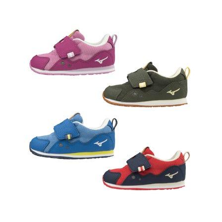 TINY RUNNER 6 / キッズシューズ シューズ選びをもっと楽しく!  足がやわらかく、歩き方が不安定なお子様に。  ■対象年齢:1~3歳  #mizuno #TINY_RUNNER #kids_shoes #for_kids