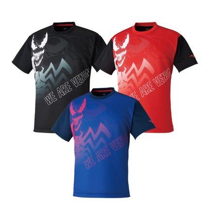 MERVEL GRAPHIC T-SHIRTS MARVEL 코믹스보다 VENOM 디자인의 오리지날 T 셔츠가 등장!  #mizuno #ervel #venom #tshirts #unisex