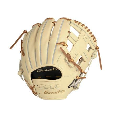 "5DNA TECHNOLOGY <GLOBAL ELITE>/ FOR HARD-BALL MIZUNO手套出現新的顏色"" Blonde""! 請僅將其塗成自己的顏色就染成金色,就能給您帶來品味。  #mizuno #baseball #glove #global_elite #new_color #blond"