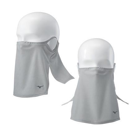 フェイスガード 飛沫拡散を抑制します。  ひんやり、さらっとアイスタッチ素材を使用。  #mizuno #face_guard #ice_touch