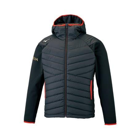MORELIA TECHFILL JACKET MORELIA的功能夹克具有出色的保温性,抗风性和可拉伸性。  #mizuno #mizuno_football #morelia #techfill #jacket #unisex