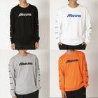 LONG SLEEVE T-SHIRTS 양쪽 소매에 작은 로고가 들어간 긴팔 T 셔츠.  #mizuno #long_sleeve #tshirts #unisex