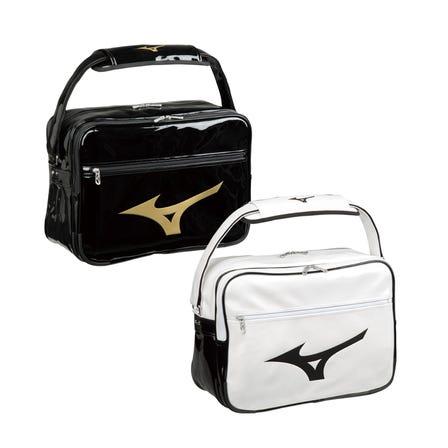 ENAMELED BAG L 搪瓷制成的单肩包,不易浸泡在水中并清除污垢。  #mizuno #enameled_bag #bag #shoulder_bag