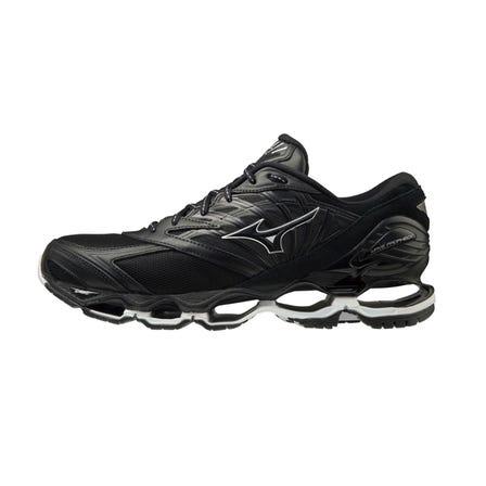 "WAVE PROPHECY LS / SNEAKERS 生活方式規格模型出現在正在運行的旗艦模型"" WAVE PRO PHECY""中,該模型匯集了MIZUNO的技術能力。  #mizuno #WAVE_PROPHECY #sneakers  #for_men #leather_model"