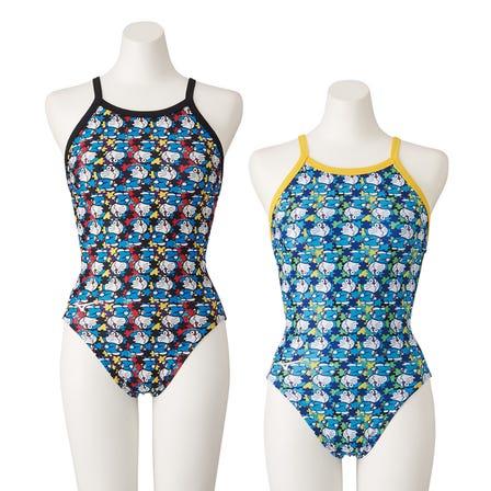 SWIMSUIT / EXER SUITS ドラえもんデザインがかわいい練習用水着。 ※子供用もご用意ございます。 ©Fujiko-Pro, Shogakukan, TV-Asahi, Shin-ei, and ADK  #mizuno #doraemon #swimsuit #exer_suits #for_women