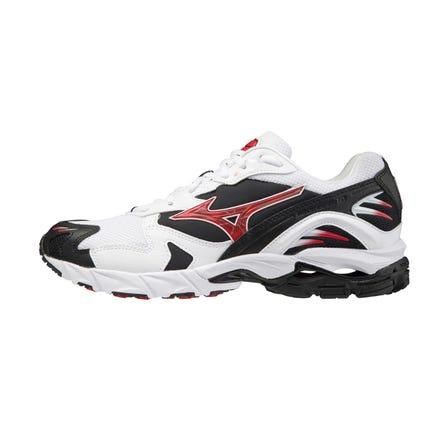 "WAVE RIDER 10 / SNEAKERS WAVE RIDER系列的第10代"" WAVE RIDER 10""的再版模型,是装有"" MIZUNO WAVE""的跑鞋。这项作品是一种特殊的颜色,它使用了过去竞赛模型中使用的传统颜色。  #mizuno #wave_rider_10 #wave_rider #sneakers #for_men"