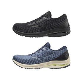 "WAVE RIDER 24 WAVE KNIT / RUNNING SHOES ""平稳""运行,直到永远。配备了MIZUNO ENERZY和MIZUNO WAVE。针织鞋帮带来舒适感。  #mizuno #wave_rider #knit #MIZUNO_ENERZY #runnning #runnning_shoes #for_men"