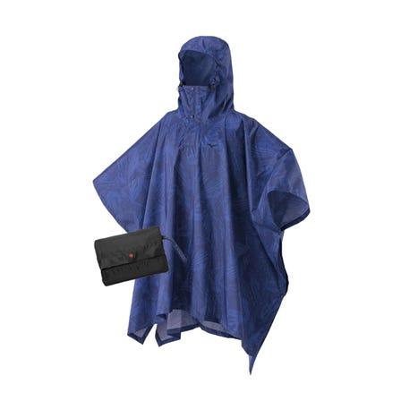 BERGTECH RAIN PONCHO 雨披可以紧凑地存放以防止观看体育比赛时下雨。  #mizuno #bergtech #poncho #rain_poncho