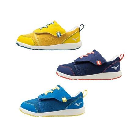 ミズノプレモアシューズ / キッズシューズ もっと遊ぼう、もっと動こう!自分で履けてすぐ飛び出せる、特許取得のピットイン構造を体験しよう!  #mizuno #kids_shoes #plamore_shoes #for_kids