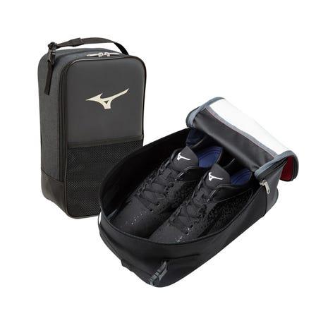 SHOES CASE 一种多功能鞋盒,也可以用作附件盒。带网眼袋和拉链袋。  #mizuno #shoes_case #bag