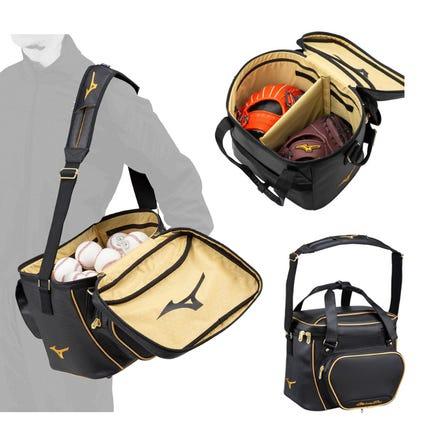 【Mizuno Pro】BALL CASE / GLOVE CASE 一個工具包,也可以用作帶有新分體式皮帶的手提包。  #mizuno #mizuno_baseball #ball_case #glove_case #bag
