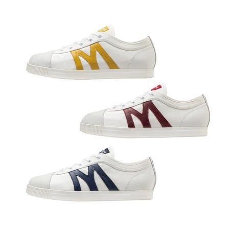 MIZUNO SCHOOL TRAINER / SNEAKERS 受MIZUNO在70年代和80年代發布的學生鞋的啟發,一種具有懷舊設計的運動鞋出現了一種新顏色。  #mizuno #sneaker #unisex #student_shoes