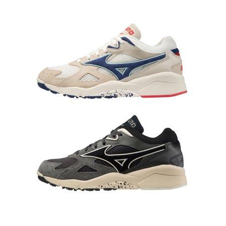 SKY MEDAL S / SNEAKERS 运动鞋再现了90年代初期出现的杰作训练鞋。  #mizuno #sneakers #sports_shoes #unisex #sky_medal_s #reprint #new_color
