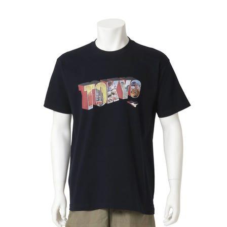 "TOKYO T-SHIRT An original T-shirt with a design that makes you feel ""Tokyo"" in the letters.  #mizuno #mizunotokyo #tshirt #tokyo #souvenir"