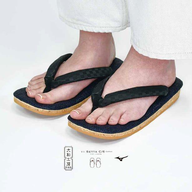 SETTA C/6 일본 전통 신발이다 SETTA과 최신 기술과 융합. SETTA 깔창 내부에 탄소 섬유 강화 플라스틱을 채택했습니다.  #mizuno #setta #japan #made_in_japan #traditional
