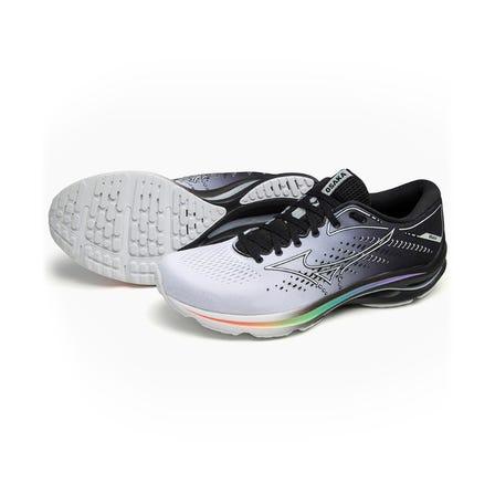 WAVE RIDER 25 / RUNNING SHOES MIZUNO 獨創的中底材料 MIZUNO ENERZY 安裝在整個鞋底,MIZUNO WAVE 安裝在一個新的形狀。  #mizuno #wave_rider #runnning #runnning_shoes #unisex