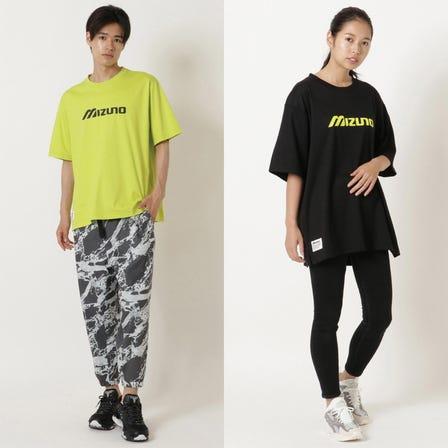 Tシャツ A basic logo print T-shirt.  #mizuno #tshirt #logo_tshirt #unisex