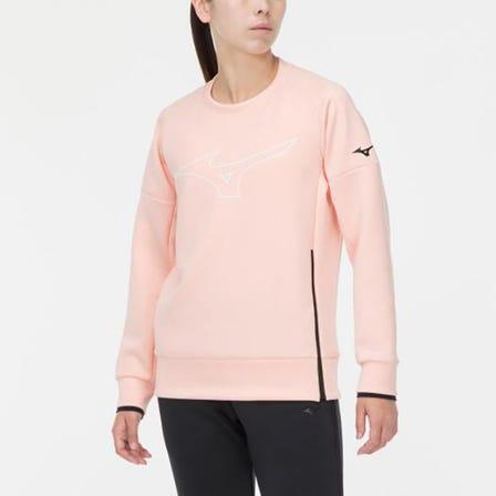 STRETCH SWEATSHIRT 有弹性、触感柔软、舒适且易于移动的运动衫。  #MIZUNO #stretch #sweatshirt #unisex