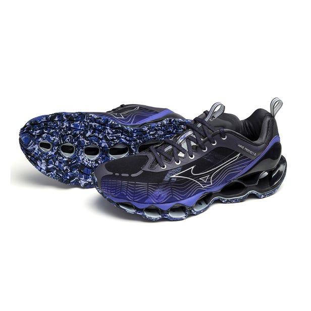WAVE PROPHECY V / SNEAKERS MIZUNO 运行顶级技术性能模型。  #mizuno #WAVE_PROPHECY #sneakers #for_men