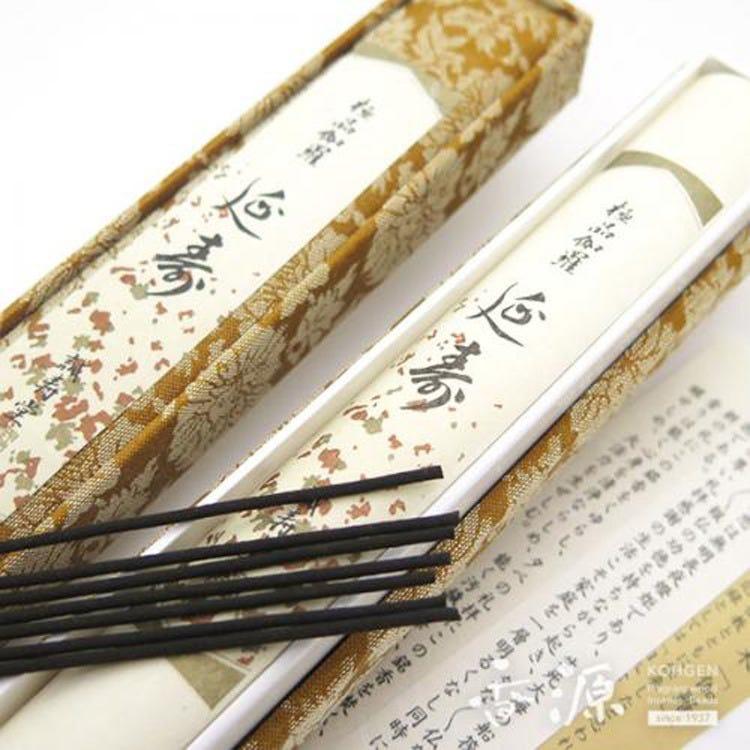 Japanese Incense, Seijudo Incense sticks, Gokuhin Kyara Enju, 30 sticks, Japanese fragrance, aroma