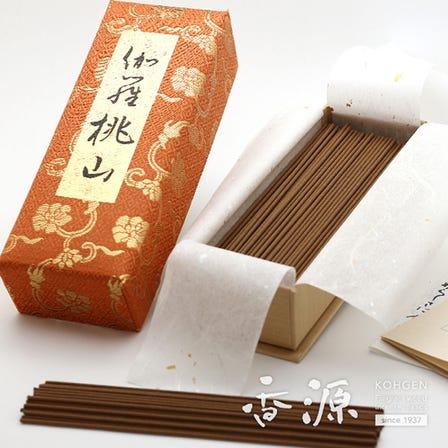 人気の伽羅大観を凌ぐ上位ランク!これぞ伽羅桃山 日本香堂のお線香 伽羅桃山 お徳用バラ詰