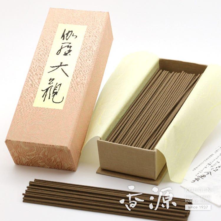 Wonderful fragrance ofa precious fragrant wood.<br /> Nippon Kodo Incense, Kyara Taikan, Large Box.