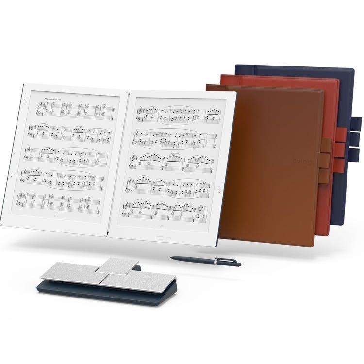 GVIDO(グイド)<br /> 2画面電子ペーパー楽譜専用端末