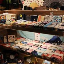 """和布华手巾<br /> 日本传统织物""""和布华WAFUKA""""最适合作为伴手礼。"""