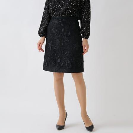NEPHILA提花半身裙